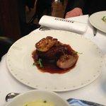Filet de boeuf et foie gras poêlé