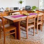 Sala colazioni/cucina di Amarena B&B
