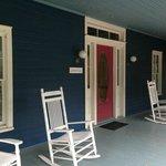 The Lehmann House Front Porch
