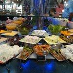 A varied buffet