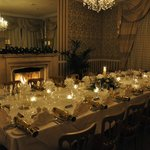 Amazing Christmas Table in the Rose Room!