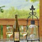 Springtime Wine in the Terrace Garden