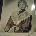 foto autografata Diva cinema