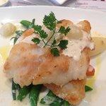 Pan fried fish. V substantial !