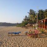 Sonho do Mar location on beach
