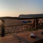 Agonda Beach from Sonho do Mar Hangout Area