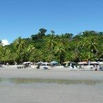 Public beach a short walk from the hotel