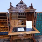 Old bank desk