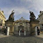 Главные ворота. Вход в Пражский град