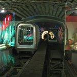 Туннель и вагончик