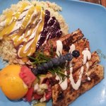 Grilled Dolphin plate. Yum!