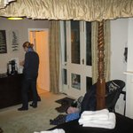 Our room with double doors on to own outside area