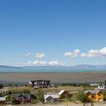 View across Lago Argentino
