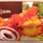 King prawn pakeezah one of the special dish of vujon