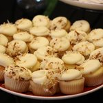 free pineapple and coconut mini cupcakes