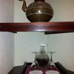Carafe de sherry pour digérer