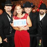 The Texas Tenors & I - and my Christmas present to them - My Personalized License Plate