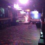 nightclub and DJ Box and dancing cage