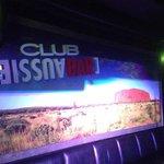 Uluru mural in Nightclub