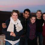Devant le Grand Canyon de l'Antiatlas