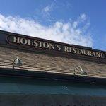 Gorgeous day at Houston's.