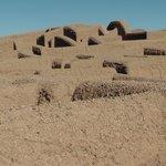 Detalle de las ruinas