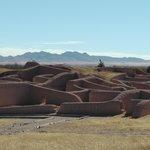 Panoramica de las ruinas