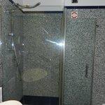 cubículo de ducha