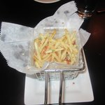 Truffle oil fries were amazing!