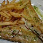 Fillet of Sea Bream with home made fries