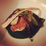 Turbot and braised veal tail