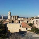 Passeig de la Muralla - Cathedral view