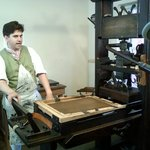 Colonial Printing Demonstration