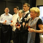 Frau Roewer und Team Sylvesterbegrüßung