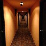 corridoors on first floor - no lift