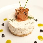 smoked trout cheesecake