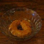 After Dinner Dessert - Donut with honey