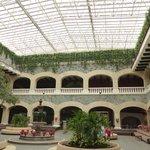Lobby of Hacienda side