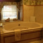 Paris Suite jacuzzi tub - beautiful setting