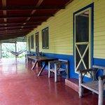 Porch at La Carolina lodge