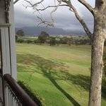 View from room overlooking Hunter Valley