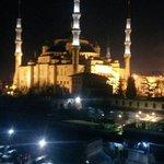 Голубая Мечеть, втд с террасы.