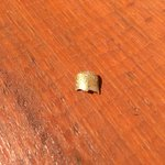 Fingernail found in my poke bowl