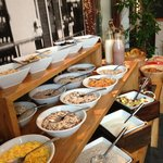 Breakfast buffet (great regardless of your food preferences!)