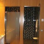 Doccia e bagno separati
