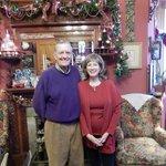 Mr Reiker and Ann