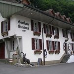 Front of Gasthaus Steinbock