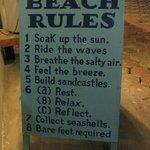 beach rules :-)