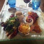 Grand assiette de canard