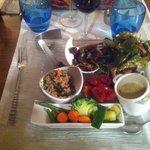 Grand assiette de legumes